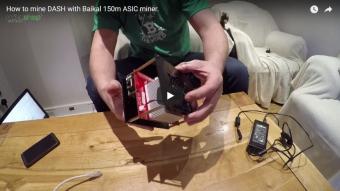 Як запустити майнінг DASH з допомогою ASIC-майнера Baikal 150M (ENG)