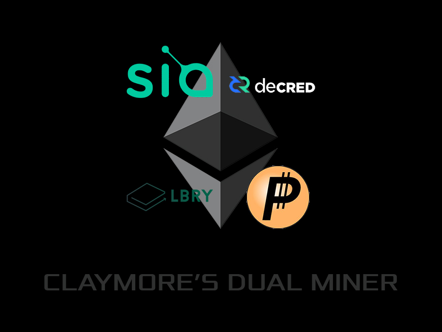 Claymore's Dual Ethereum AMD+NVIDIA GPU Miner v10.0 (Windows / Linux)